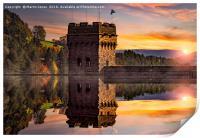 Autumn at Derwent Dam, Print