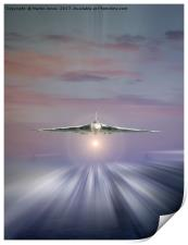 Vulcan at Dawn, Print