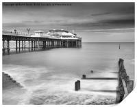The Victorian Pier, Cromer, Print