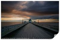 Clevedon Pier at Sunset, Print