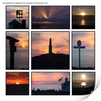 Cornish Sunsets, Print