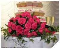 Cupcakes and Roses, Print