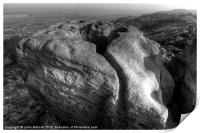 Frying Pan Rock, Print