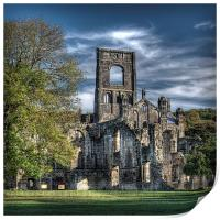 Kirkstall Abbey, Print