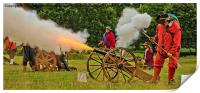 Firing The Cannon, Print