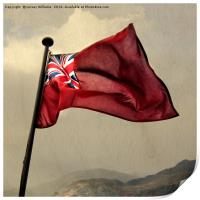 The Red Ensign, Print