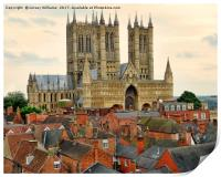 Lincoln Cathedral, Print