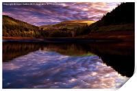 Howden Sun Rise, Print