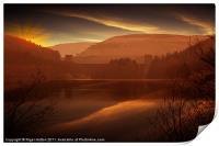 Howden Sun Down, Print