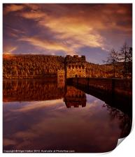 Howden Reflections, Print