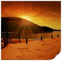 Howden Sun Burst, Print