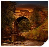 Alport Bridge, Print