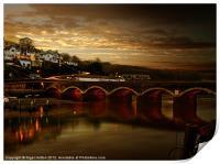Victorian Bridge, Print