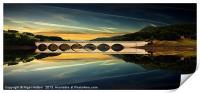 Ashopton Reflections, Print