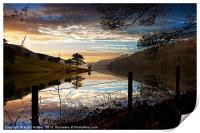 Derwent Village Reflections, Print