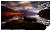 Derwent Reservoir, Print