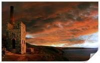 Towanroath Sunset, Print