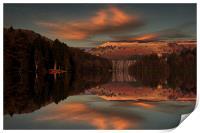 Howden Moor Reflections, Print