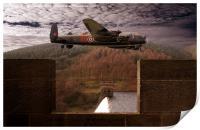 Avro Lancaster Mk1, Print