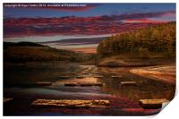 Ouzelden Sunset, Print