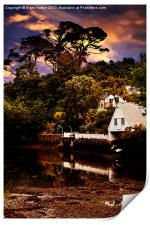 Boat House, Print