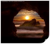 Cave Glow, Print