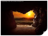 Cave, Print