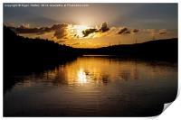 Underbank Reservoir, Print