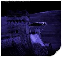 Lancaster Lights, Print