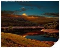 Bamford Edge Reflections , Print