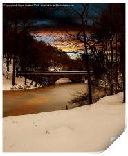 Fairholmes Bridge, Print
