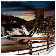 Frozen River , Print
