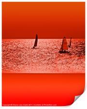 Autumn Ocean, Print