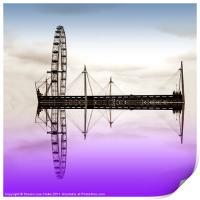 Wheel on water, Print