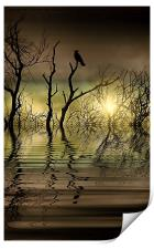 Twilight reflected, Print