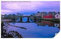 The Auld Brig, Print