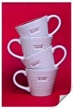 Love Mugs, Print