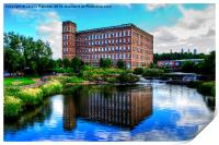 The Mill Paisley, Print