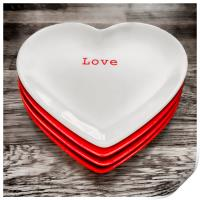 Love on a Plate, Print