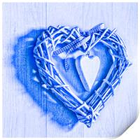 Two Hearts, Print