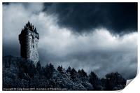 Wallace Monument, Scotland, Print