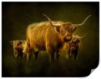Highlanders, Print