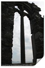 Through the Arch Window, Print