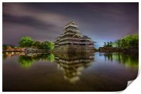 Matsumoto Castle, Print