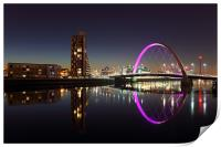 Glasgow Clyde Arc Bridge, Print