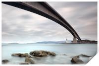 Road Bridge Rocks, Print
