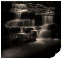 Lumsdale Valley Waterfalls, Print