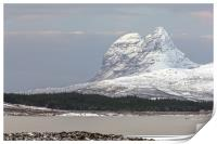 Suilven in Winter, Print