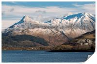 The Pap of Glencoe and Loch Leven, Print