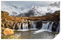 The Fairy Pools, Isle of Skye, Print